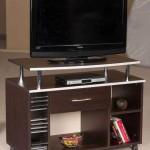 çekmeceli ve raflı LCD tv sehpası modeli