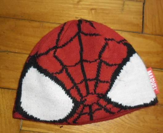örümcek adam modeli örgü şapka modelleri