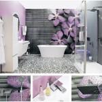 şık banyo dekorasyonu