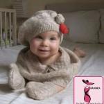 şapka modelleri 150x150 Örgü Bebek Şapka Modelleri