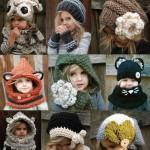 şapka tasarımları 150x150 Örgü Bebek Şapka Modelleri