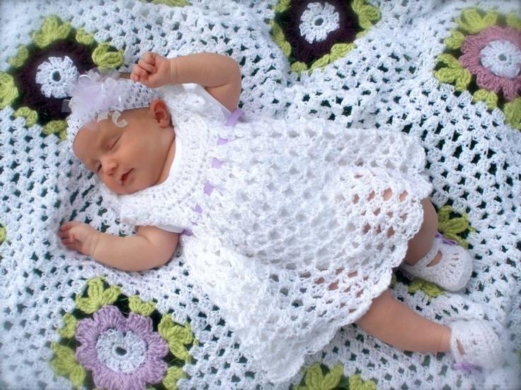 Вязание для новорожденных крючком с фото 578