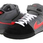 Gri bilekli Siyah uçlu Nike Erkek Spor Ayakkabı Modelleri