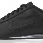 Gri parlak tabanlı Siyah Nike Erkek Spor Ayakkabı Modelleri
