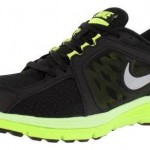 Sİyah ve Fosfor yeşilli Nike Erkek Spor Ayakkabı Modelleri