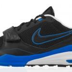 Siyah delikli Mavi çizgili Nike Erkek Spor Ayakkabı Modelleri