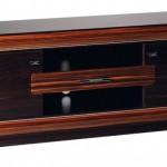 açık kahverenkli çerçeveli LCD tv sehpası modeli