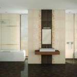 açık renk çiçekli banyo fayansları modelleri