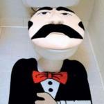 adam karekterli banyo halıları modelleri 150x150 Banyo Halıları Modelleri