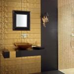 altın sarılı banyo fayansları modelleri