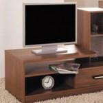 asimetrik dizaynlı LCD tv sehpası modeli