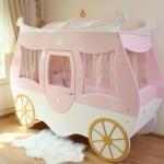 cindirella arabası figürlü bebek beşik modelleri