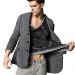 benetton gençler için erkek ceket modeli