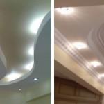 beyaz alçıpandan asma tavan modelleri