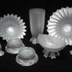 beyaz ve simli salon süs eşyası modelleri