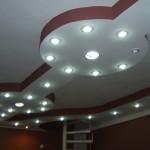 bordo boyalı asma tavan modelleri