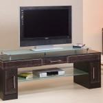cam raflı plazma LCD tv sehpası modeli