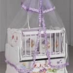 cibinlikli bebek besik modelleri 150x150  Bebek Beşik Modelleri