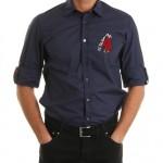 düz lacivert us polo erkek gömlek modelleri 150x150 U.S Polo Erkek Gömlek Modelleri