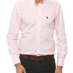 düz toz pembe us polo erkek gömlek modelleri