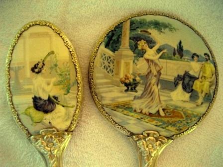 Antika Ayna Tarak Seti Modelleri