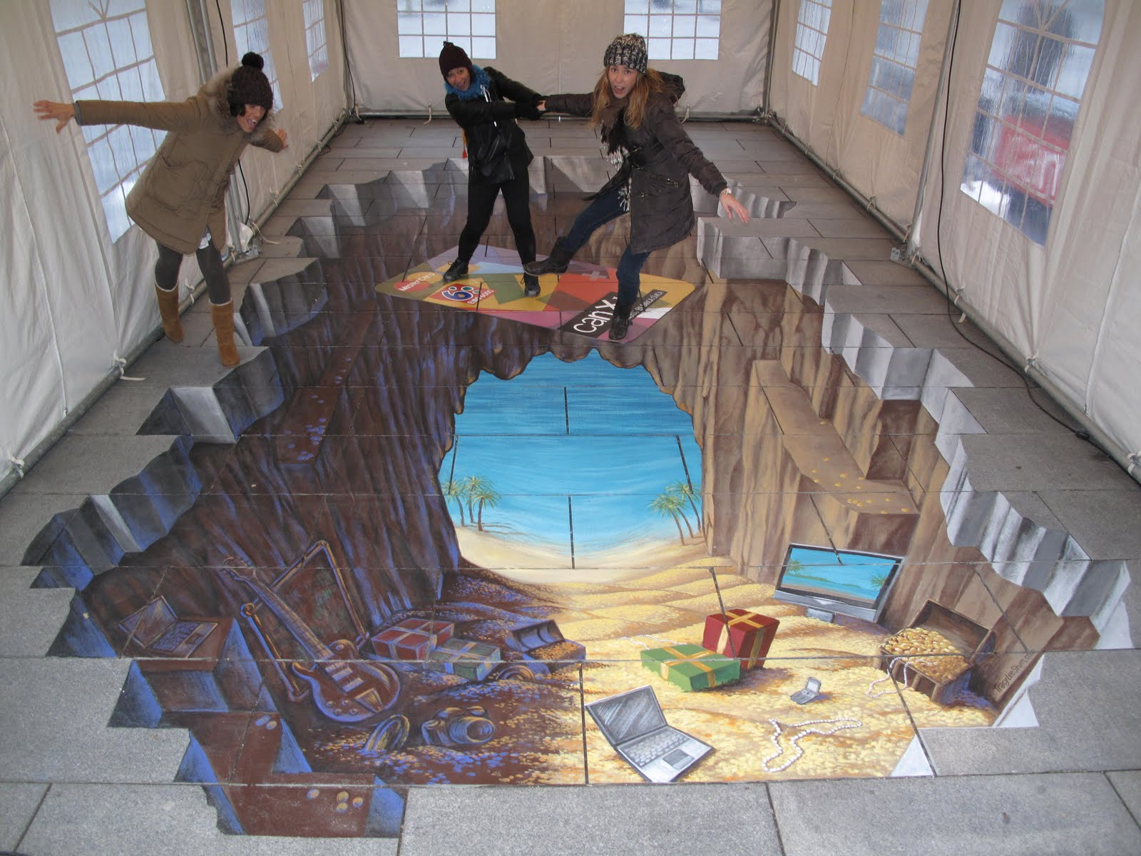 Üç Boyutlu Sokak Sanatları Modelleri