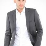 füme renkli biyeli cepli erkek ceket modeli