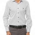 gri beyaz çizgili us polo erkek gömlek modelleri 150x150 U.S Polo Erkek Gömlek Modelleri