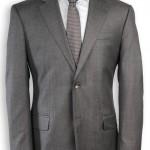 gri klasik üç cepli erkek ceket modeli