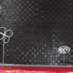 küçük kareli banyo fayansları modelleri