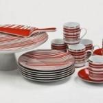 kırmızı çizgili fincan takımları modelleri 150x150 Fincan Takımları Modelleri