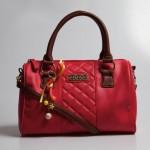 kırmızı bordo askılı lcw çanta modelleri