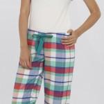 kırmızı yeşil kareli lcw bayan pijama modeli 150x150 LCW Bayan Pijama Modelleri