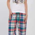 kırmızı yeşil mor kareli lcw bayan pijama modeli 150x150 LCW Bayan Pijama Modelleri