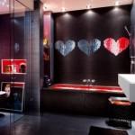 kalpli mozaik desenli banyo fayansları modelleri
