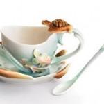 kaplumbağa figürlü fincan takımları modelleri