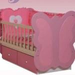 kelebek bebek besik modelleri 150x150  Bebek Beşik Modelleri