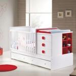 kirmizi bebek besik modelleri 150x150  Bebek Beşik Modelleri