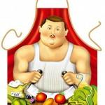 mafya babası resimli mutfak önlükleri modeli