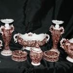 osmanlı tarzı klasik polyester salon süs eşyası modelleri