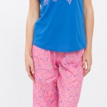 pembe lacivert lcw bayan pijama modeli 150x150 LCW Bayan Pijama Modelleri