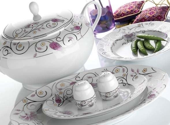 Hisar Porselen Yemek Takımı Modelleri