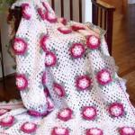 pembe motifli bebek battaniye modelleri 150x150 Bebek Battaniye Modelleri
