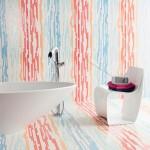 rengarenk desenli banyo fayansları modelleri