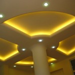 sarı ışıklı asma tavan modelleri