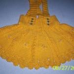 sarı askılı kız çocuk örgü etek modelleri