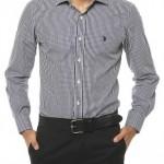 siyah beyaz küçük kareli us polo erkek gömlek modelleri 150x150 U.S Polo Erkek Gömlek Modelleri