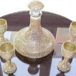 swarovski taşlı salon süs eşyası modelleri