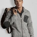 tchibo gri spor erkek ceket modeli