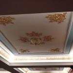 yaldız boyalı oymalı asma tavan modelleri